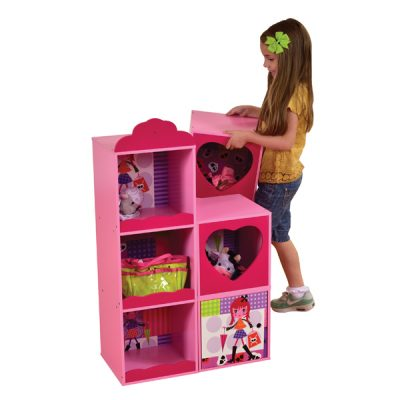Fashion Girl Stacking Storage Unit_2