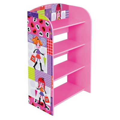 Fashion Girl 4 Tier Bookshelf_2