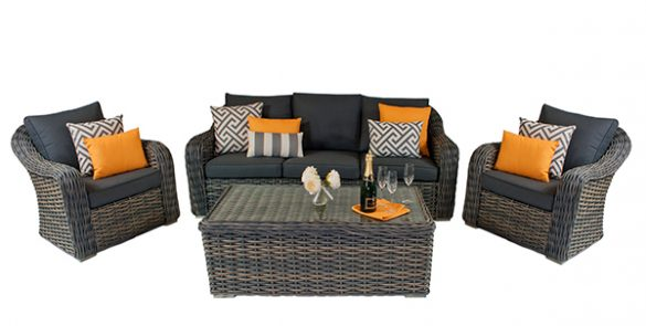 Casamoré Miami 3 Seater Sofa Set