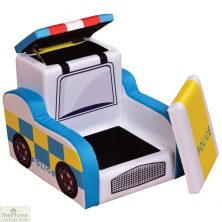 Police Car Storage Armchair