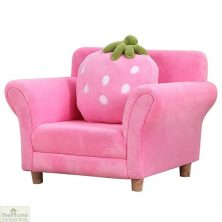 Pink Strawberry Armchair