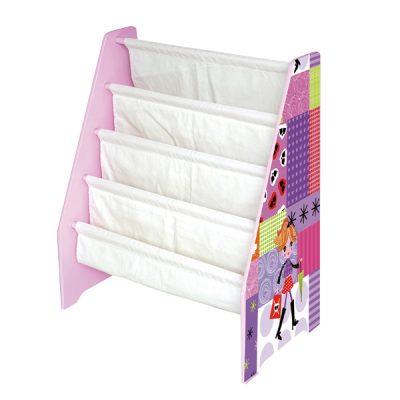 Fashion Girl Book Display Storage_2