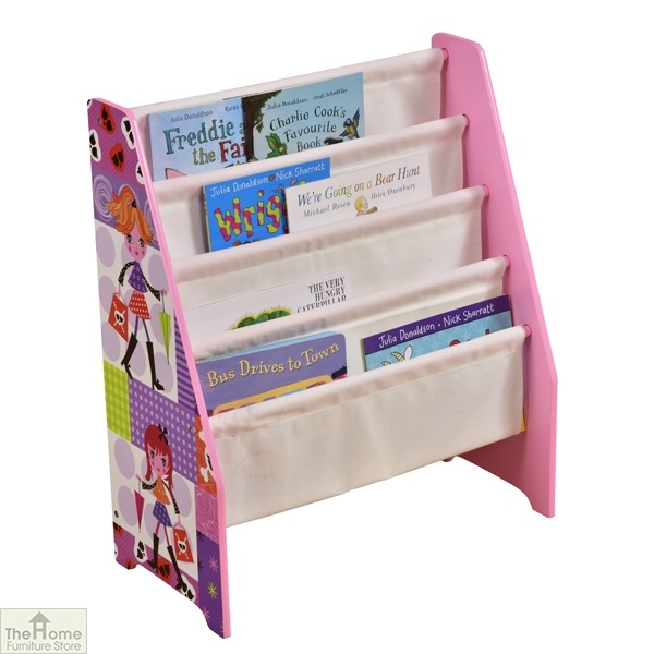 Fashion Girl Book Display Storage