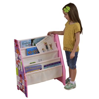 Fashion Girl Book Display Storage_1