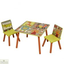 Safari Table and Chairs