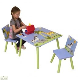 Safari Blue Table and Chairs_1