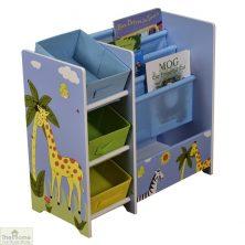 Safari Blue Book Display Storage Unit