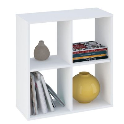 White 4 Cube Shelving Unit_2