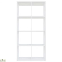 White 8 Cube Shelving Unit_1