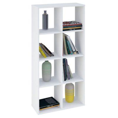 White 8 Cube Shelving Unit_2