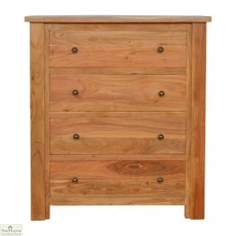 Boston Solid Wood 4 Drawer Chest