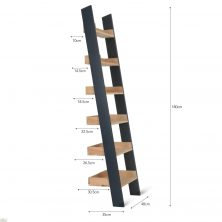 Clockhouse Ladder Shelf Bookcase