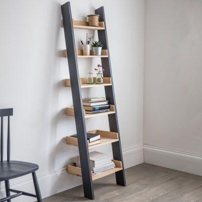 Clockhouse Ladder Shelf Bookcase_1