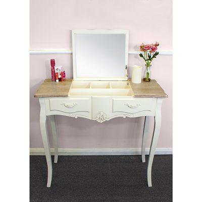 Casamoré Devon Flip Up Mirror Dressing Table_2