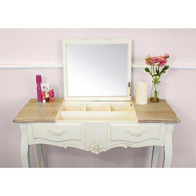 Casamoré Devon Flip Up Mirror Dressing Table_3