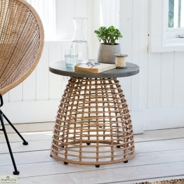 Hampstead Bamboo Effect Side Table_1
