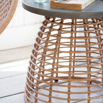 Hampstead Bamboo Effect Side Table_2