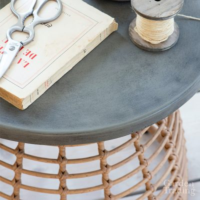 Hampstead Bamboo Effect Side Table_3