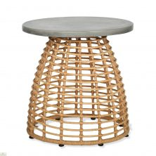 Hampstead Bamboo Effect Side Table