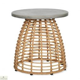Hampstead Bamboo Effect Side Table_4
