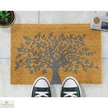 Grey Tree of Life Doormat