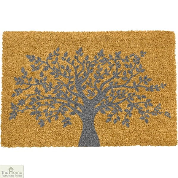 Grey Tree of Life Doormat