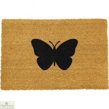 Butterfly Silhouette Doormat