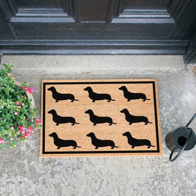 Dachshund Dog Doormat_1