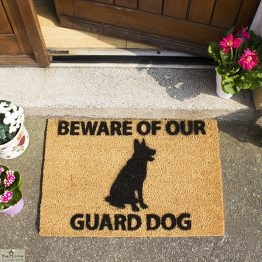 German Shepherd Doormat_1