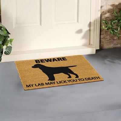 Labrador Dog Doormat_2