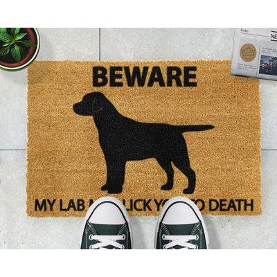 Labrador Dog Doormat_3