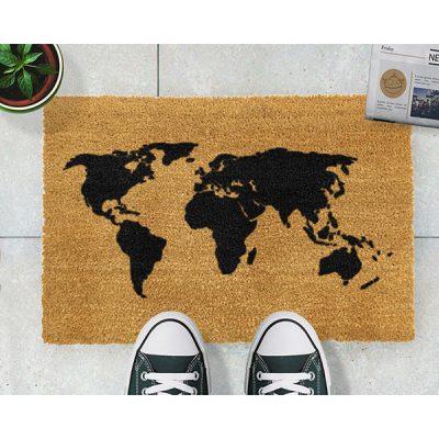 World Map Doormat_2