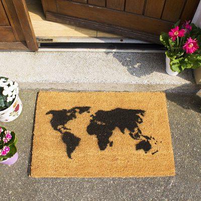 World Map Doormat_1