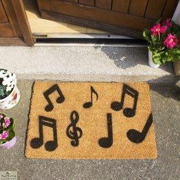 Music Notes Doormat_1