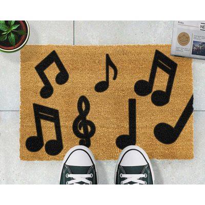 Music Notes Doormat_2