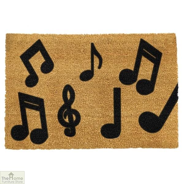 Music Notes Doormat
