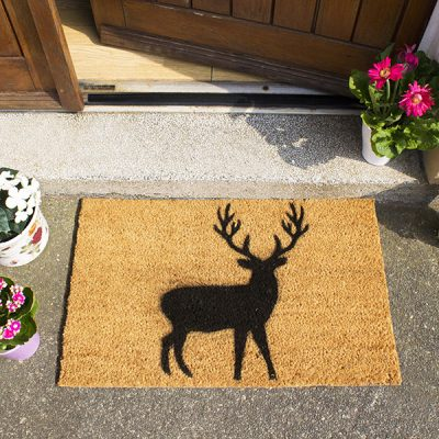 Stag Silhouette Doormat_1