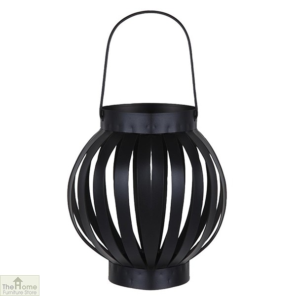 Black Hanging Candle Lantern