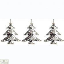 Silver Filigree Tree Fairy Lights
