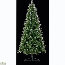 Glitter Tipped Artificial Christmas Tree
