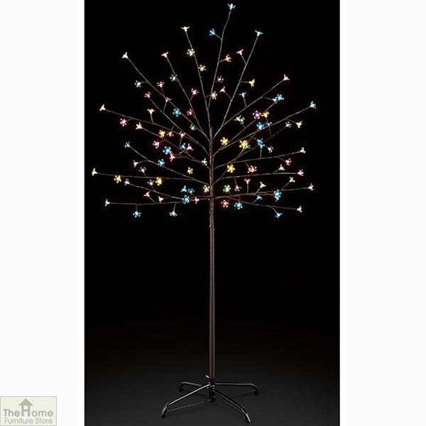Multicoloured Cherry Christmas Tree