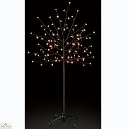 Warm White Cherry Christmas Tree