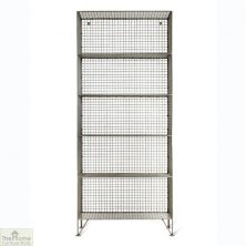 Portobello Large Mesh Shelving Unit