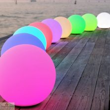 Solar LED Sphere Mood Light