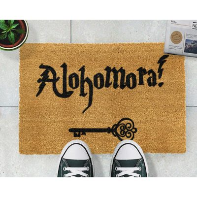 Alohomora Harry Potter Doormat_2