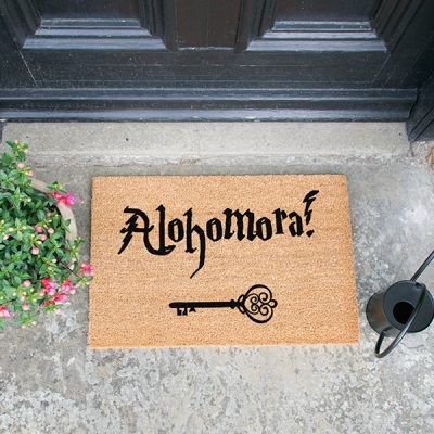 Alohomora Harry Potter Doormat_1