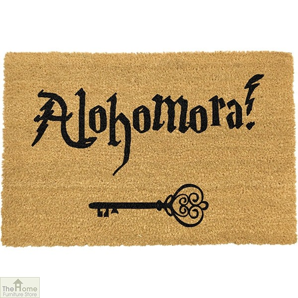 Alohomora Harry Potter Doormat