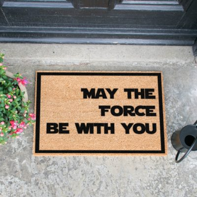 May The Force Be With You Doormat_1