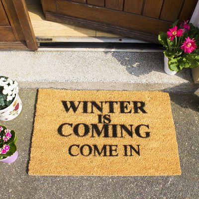 Winter is Coming Game of Thrones Doormat_1
