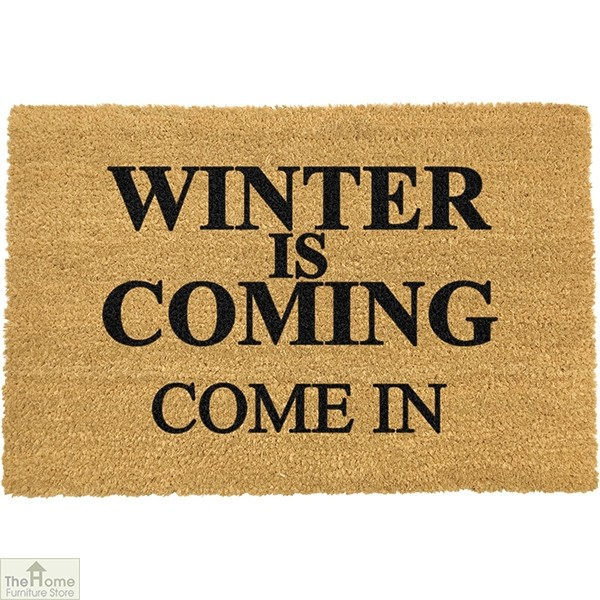 Winter is Coming Game of Thrones Doormat